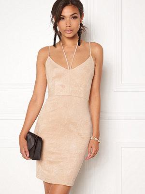 Bubbleroom Eccentric suede dress
