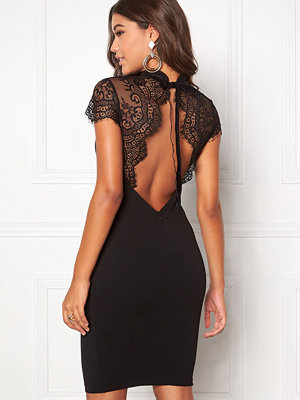 Goddiva Open Back Midi Lace