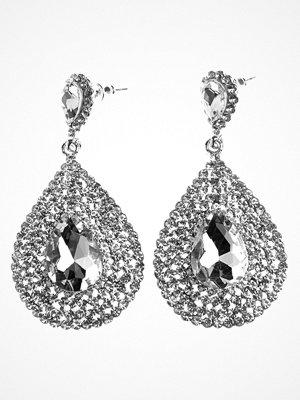 Bubbleroom örhängen Big drop crystal earring