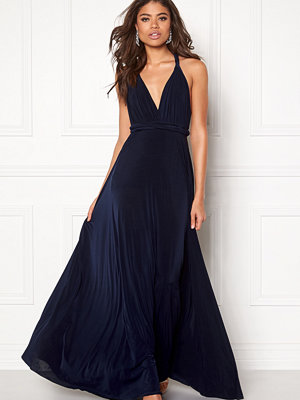 Goddiva Multi Tie Maxi Dress