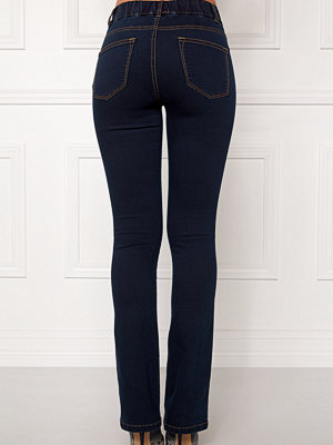Happy Holly Elwira bootcut jeggings Dark denim