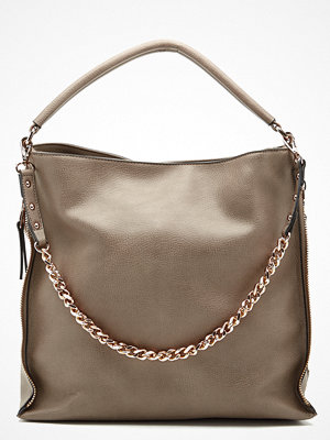 Handväskor - New Look Amelia Chain Strap Hobo