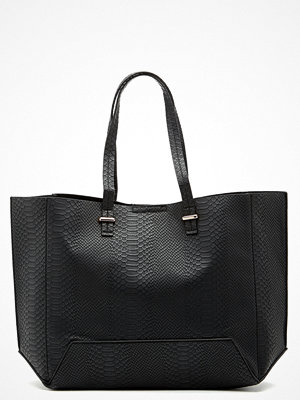 Handväskor - New Look Angela Snake Tote Shopper