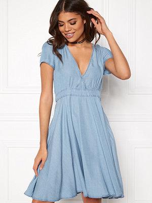 Vila Calan s/s Denim Dress