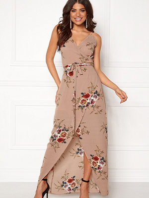 Girl In Mind Mia Floral Wrap Maxi
