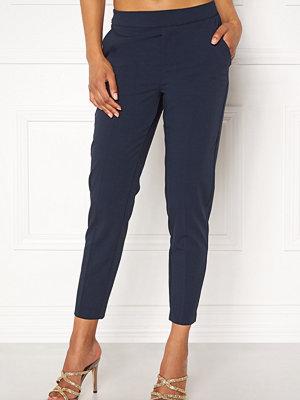 Object marinblå byxor Cecilie 7/8 Pants
