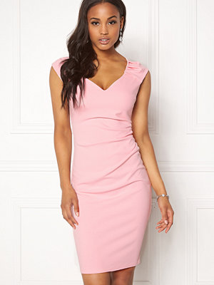 Goddiva Pleated Midi Dress