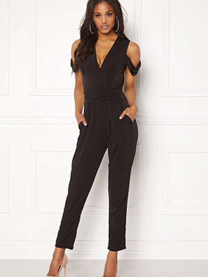 John Zack Cold Shoulder Jumpsuit