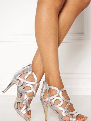 Pumps & klackskor - SARGOSSA Redefined Silver Leather Heels