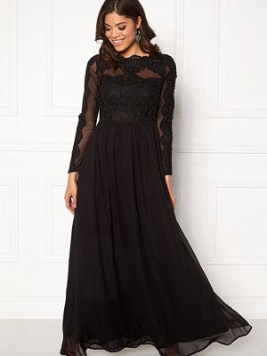 Ax Paris Long Sleeve Lace Maxi