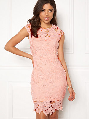 Ax Paris Cap Sleeve Crochet Dress
