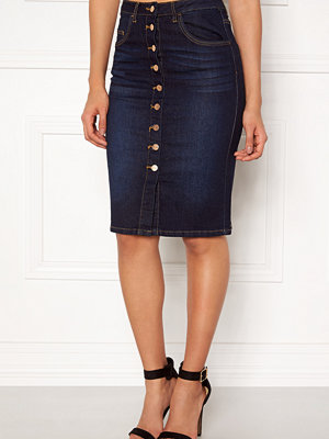 Vila Cutit Denim Skirt