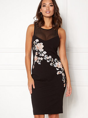 New Look Go Prem Mesh Insert Dress