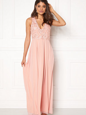 Ax Paris V Neck Lace Bodice Maxi