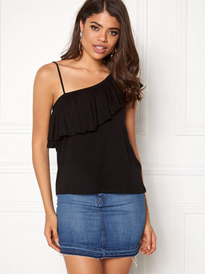 New Look One Shoulder Ruffle Tank