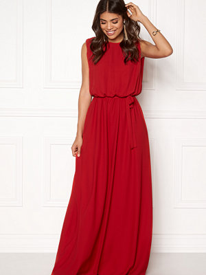 John Zack Open Back Maxi Dress