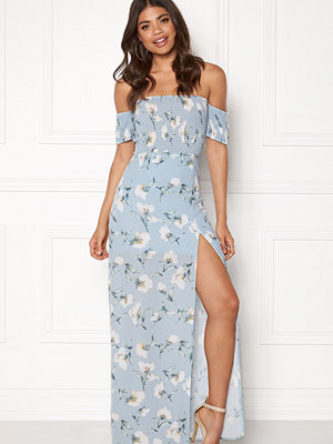 Girl In Mind Skylar Bardot Maxi Dress