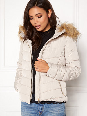 Only Ellan quilted Fur Jacket