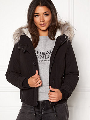 Only peyton short fur parka
