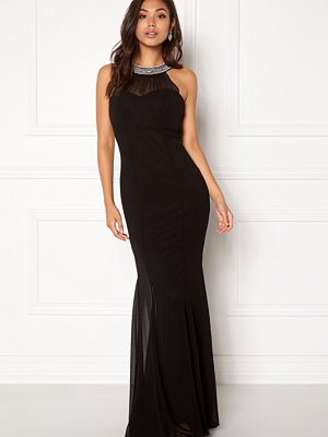 Goddiva Chiffon Maxi Dress