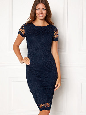 Ax Paris Crochet Lace Midi Dress