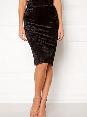 Happy Holly Mathilda velour skirt