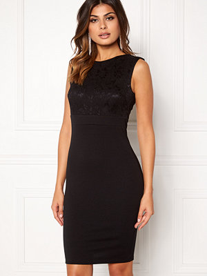 Goddiva Sleeveless Lace Dress