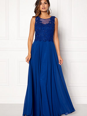 Susanna Rivieri Embroidered Chiffon Dress