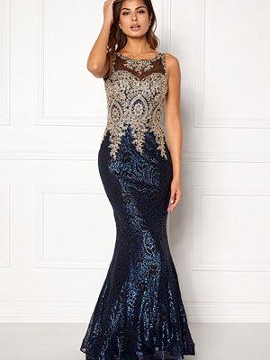 Susanna Rivieri Fishtail Sequin Dress