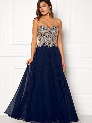 Susanna Rivieri Embellished Chiffon Dress