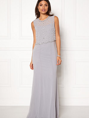 Goddiva Embellished Chiffon Dress
