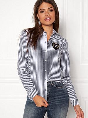 Skjortor - Vero Moda Leah Badge LS Shirt
