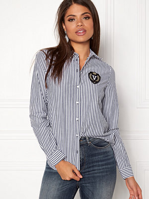 Vero Moda Leah Badge LS Shirt
