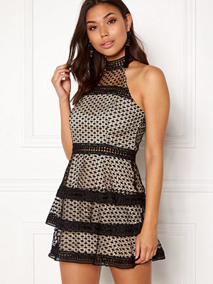 Ax Paris High Neck Ruffle Dress