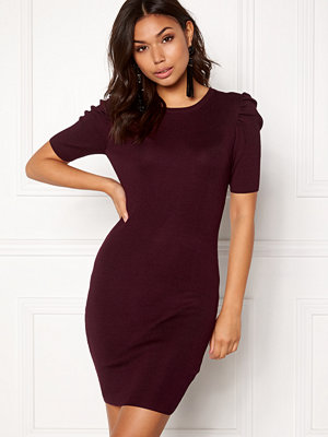 New Look Puff Sleeve Bodycon Dress