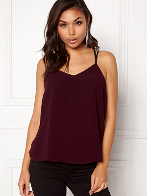 New Look Char Strappy Top