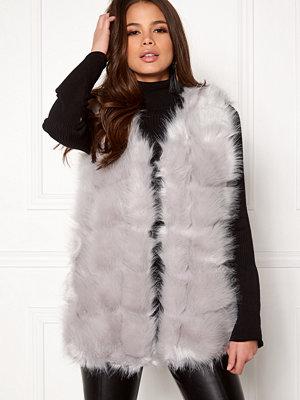 Västar - Urban Mist Faux Fur Panel Short