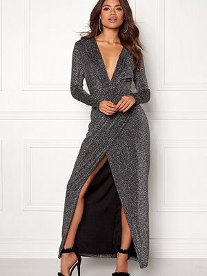 Girl In Mind Plunge V Neck Wrap Dress