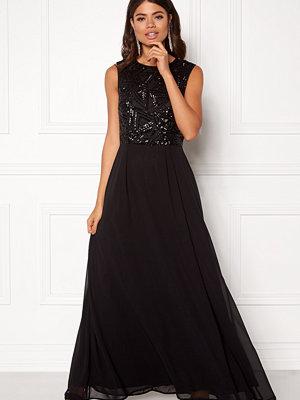 Ax Paris Sequin Chiffon Maxi Dress