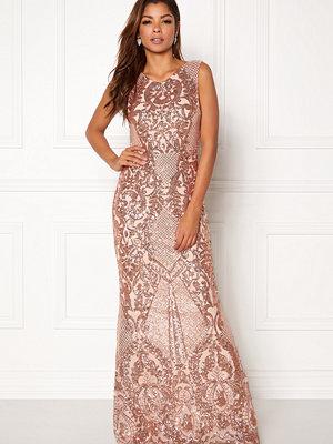 Goddiva Allover Sequin Maxi Dress
