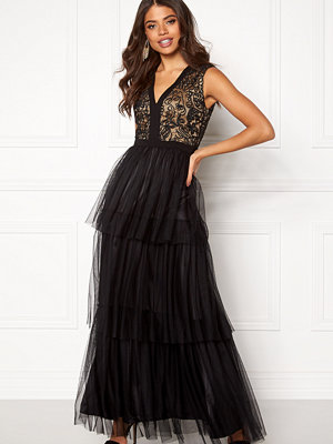 Angeleye Lace Bodice Maxi Dress