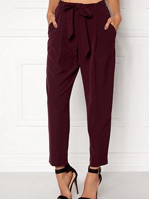 New Look omönstrade byxor Olivia Tie Waist Trouser