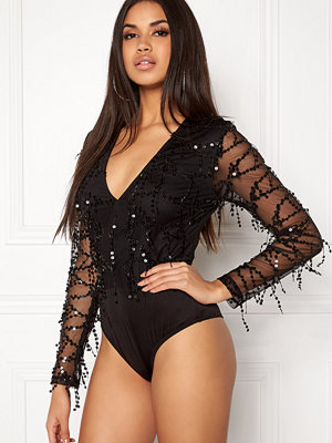 Girl In Mind Sequin Mesh Body