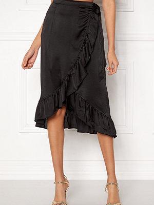Vero Moda Henna Shine Wrap Skirt