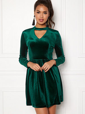 Only Mandy Choker Velvet Dress
