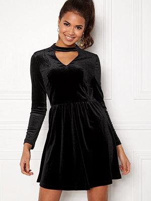Only Mandy Choker Velvet Dress