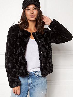 Vero Moda Curl Short Fake Fur Jacket