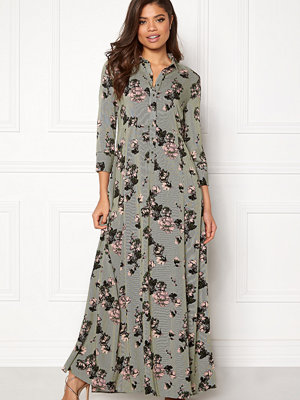 Vila Valene 3/4 Sleeve Maxi Dress