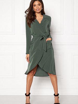 Object Nell L/S Long Dress