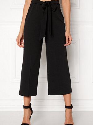 Bubbleroom svarta byxor Melina trousers